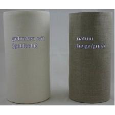 Linnenband 20cm natuur per 10 cm