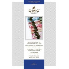 Colour card DMC floss 117