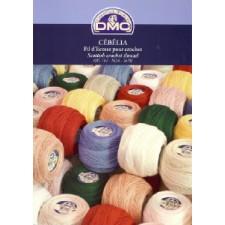 Kleurenkaart DMC Cébélia