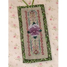 Purple Pansy Bookmark