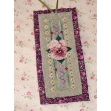 Pink Pansy Bookmark
