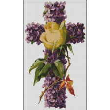 Violet Rose Cross