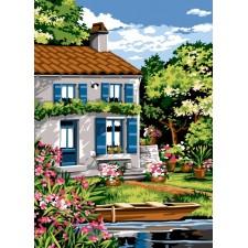 Bootje bij huis - Les volets bleus