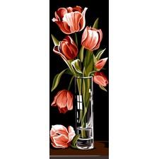 Tulpen in vaas - Tulipes