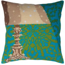 Cushion cross stitch kit Lampshade - Collection d'Art