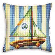 Cushion cross stitch kit Nostalgia - Collection d'Art
