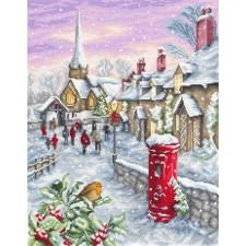 Borduurpakket Kerstavond - Christmas Eve