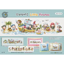 Borduurpakket Little Pirates