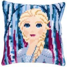 Cross stitch cushion kit Disney Frozen 2 Elsa