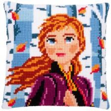 Cross stitch cushion kit Disney Frozen 2 Anna