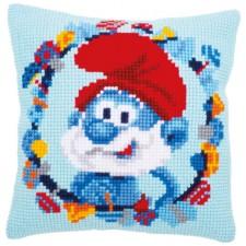Cross stitch cushion kit Papa Smurf - The Smurfs Papa